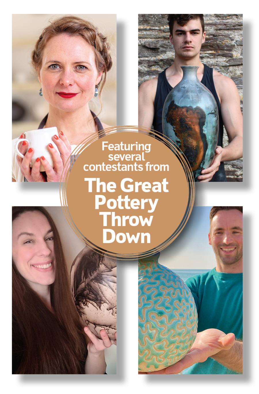 Great Pottery Throw Down Contestants
